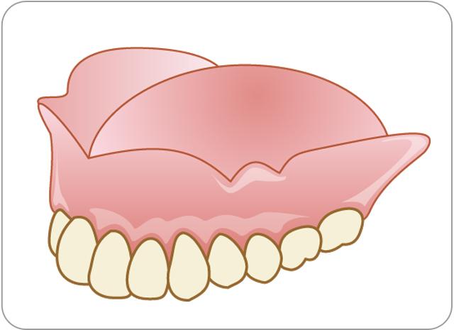 しらゆり歯科医院の総入れ歯作製