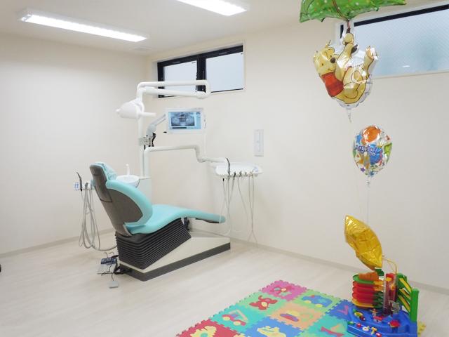 しらゆり歯科医院のキッズルーム